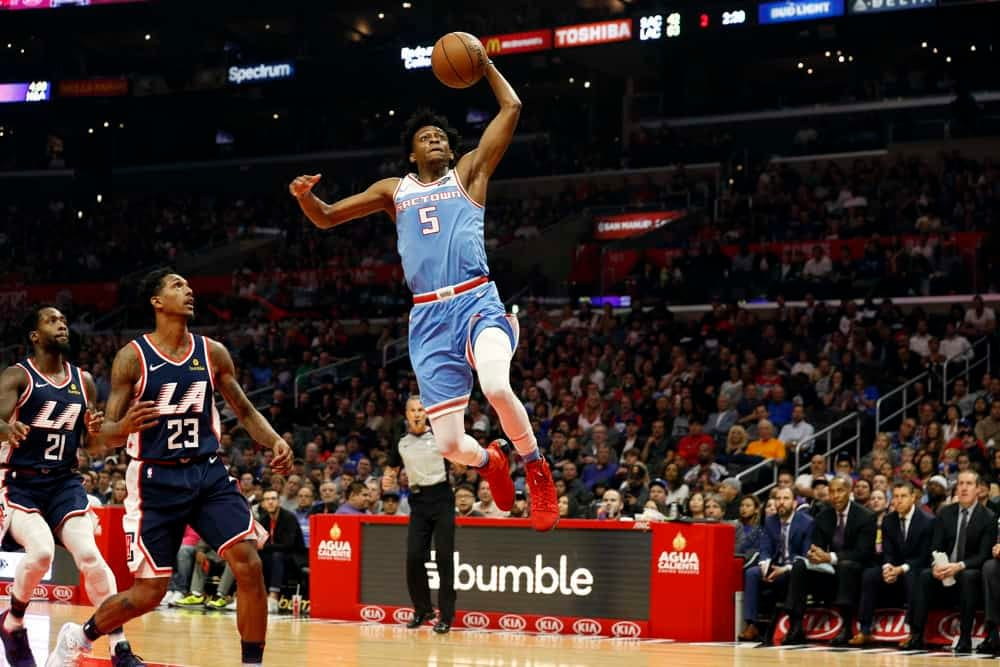 NBA daily fantasy Picks for DraftKings and FanDuel DFS on Wednesday, January 13, 2021 based on expert ownership projections featuring De'Aaron Fox