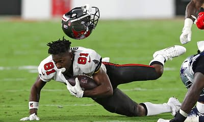 FanDuel NFL DFS Picks Week 6 Thursday Night football cheat sheet Buccaneers vs. Eagles tonight Antonio Brown optimal lineup optimizer free expert advice tips strategy rankings projections ownership best bets predictions parlays lines stacks showdown