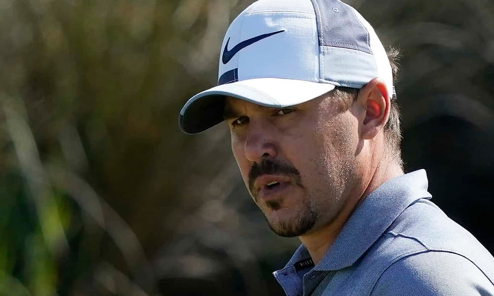 """Brooks Koepka had his usual reaction when he was asked about his upcoming """"match"""" with bitter rival, Bryson DeChambeau"""