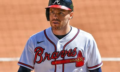 MLB DFS Picks Monkey Knife Fight Free fantasy baseball rankings projections ownership yahoo ESPN CBS cheat sheet tips strategy advice lineup news MLB vegas odds MLB betting lines today best bets Freddie Freeman Ozzie Albies Jorge Soler Braves Orioles Home runs doubles points triples cycle