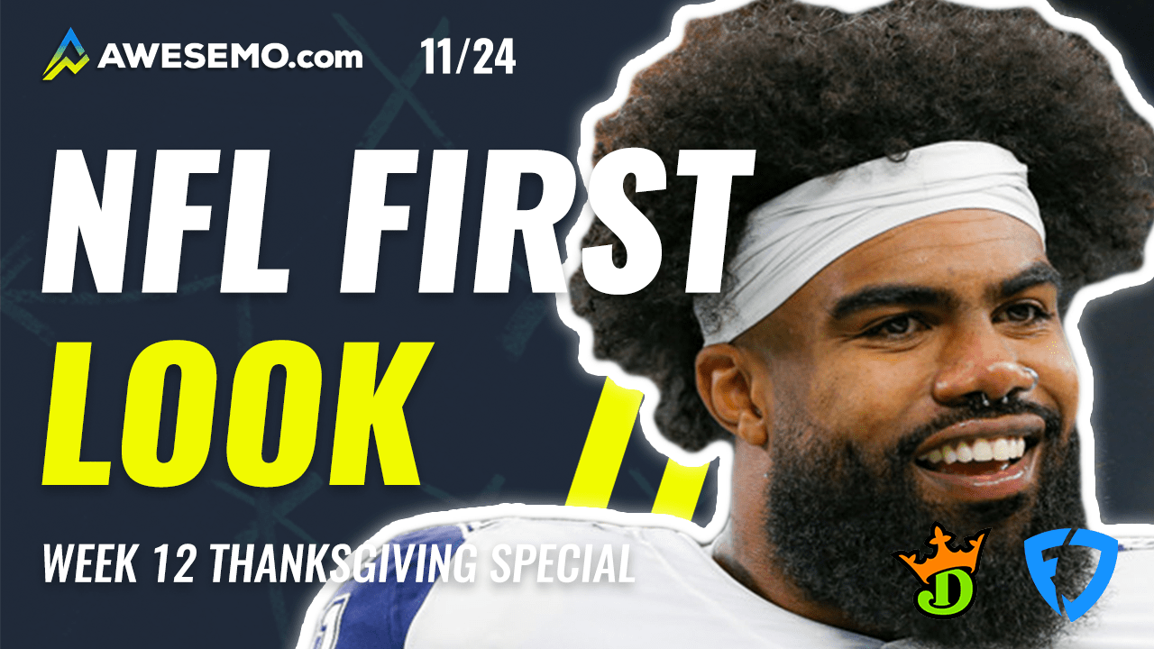 Thanksgiving NFL DFS picks first look for DraftKings and FanDuel slates