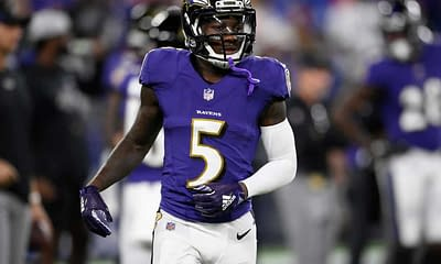 NFL Week 6 Start 'Em Sit 'Em Fantasy Football rankings projections free expert advice tips strategy yahoo espn cbs this week Marquise Brown add drop waiver wire