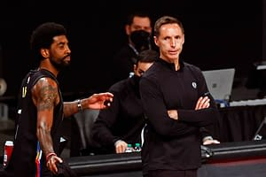 Brooklyn Nets head coach Steve Nash is sick of talking about Kyrie Irving and doesn't want to hear about his Instagram live session from earlier in the week
