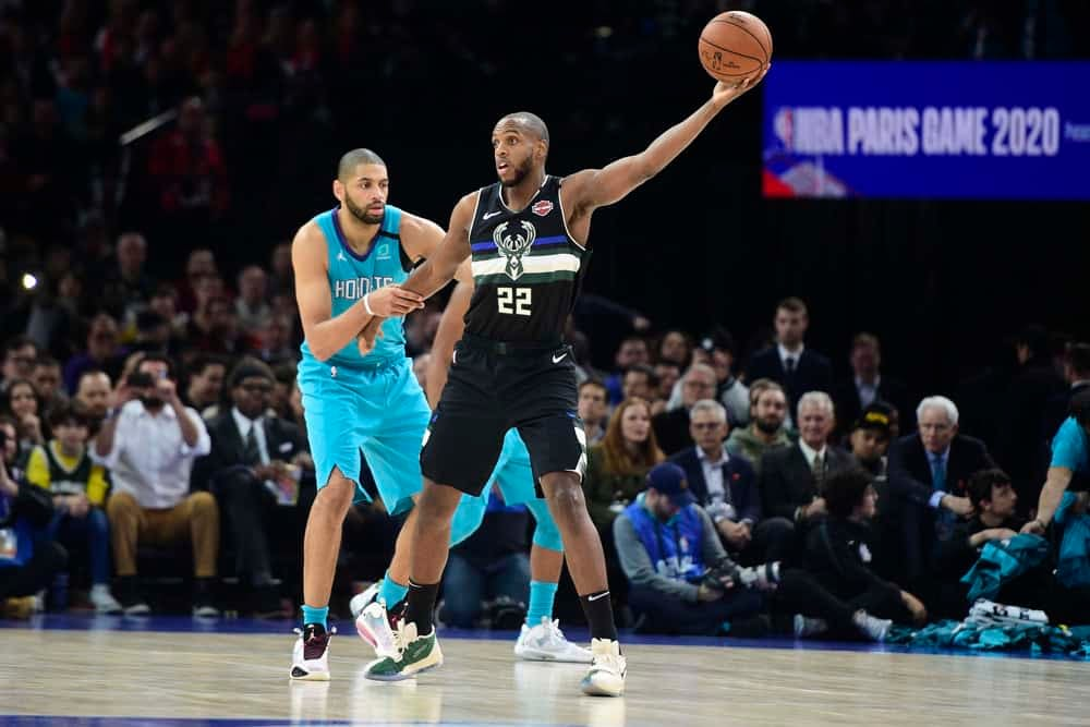 Eric Lindquist breaks down NBA DFS picks and strategies for Friday's eight-game slate on DraftKings + FanDuel including Khris MIddleton.