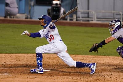 DraftKings + FanDuel MLB DFS picks for World Series Game 6 Dodgers vs. Rays   Awesemo Expert Projections   Mookie Betts + Cody Bellinger