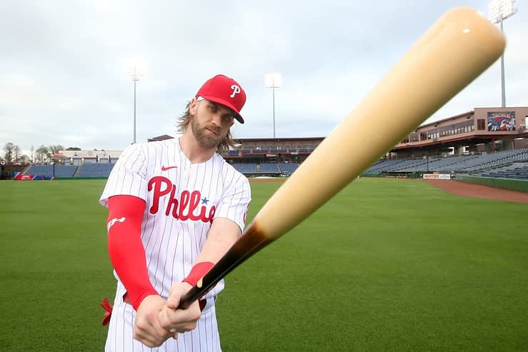 SuperDraft MLB DFS cheatsheet for 8/3120, picks like Bryce Harper based on projections and ownership from the world's No. 1 DFS player
