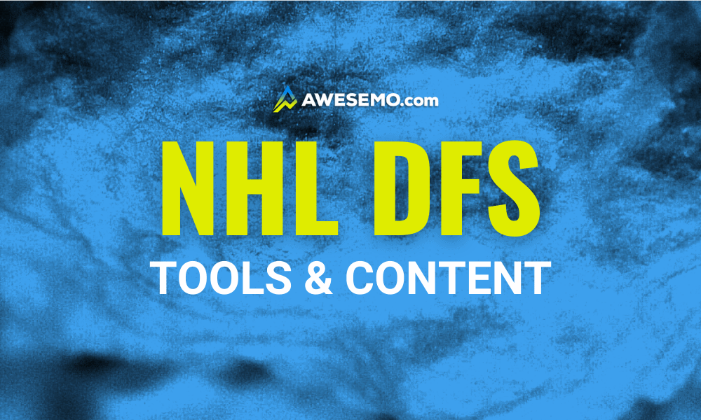 NHL DFS Picks for DraftKings and FanDuel Daily Fantasy Hockey Articles, Podcasts, Cheat Sheets Projections, Ownership, Top Stacks