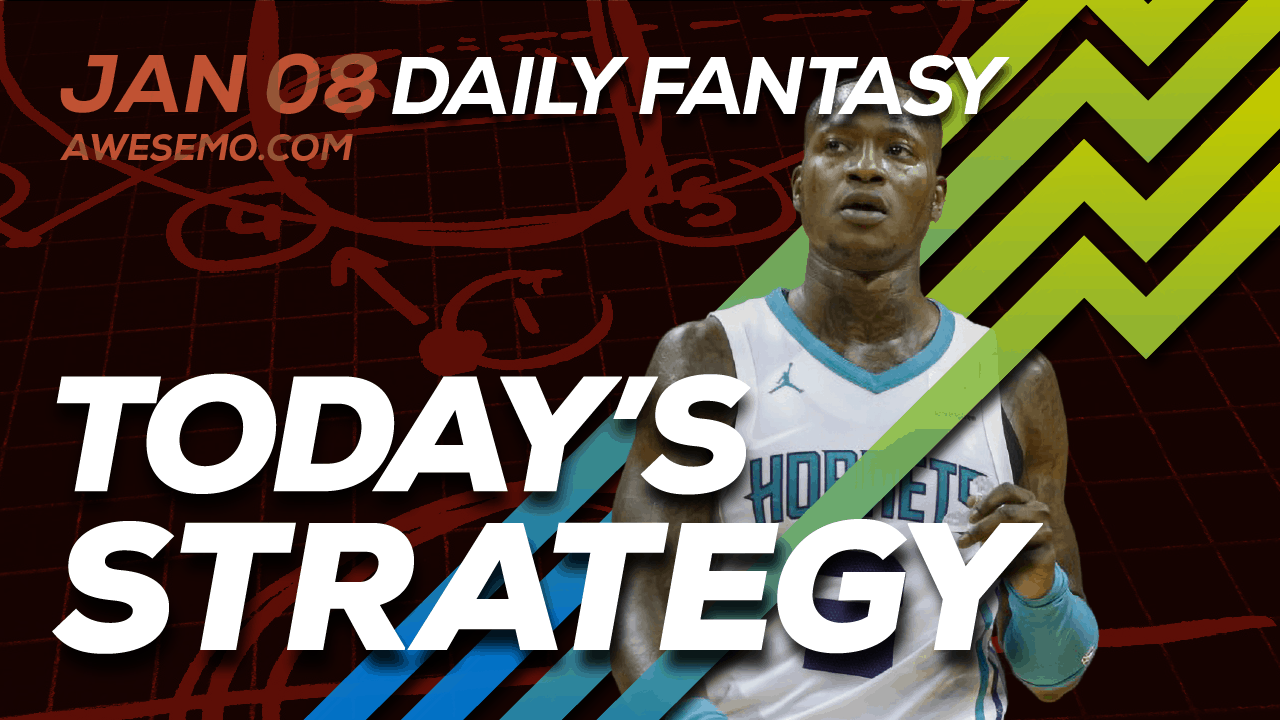 FREE Awesemo YouTube NBA DFS picks & content for daily fantasy lineups on DraftKings + FanDuel including Terry Rozier and more!