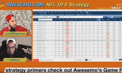 Manny Lora and Josh Engleman sit down to discuss the NFL DFS lineup building and lineup construction on DraftKings & FanDuel.