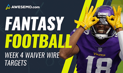 Mike Barner analyzes the Week 4 Fantasy Football wiaver wire pickups you need to bolster your rosters on ESPN, Yahoo and FFPC fantasy leagues