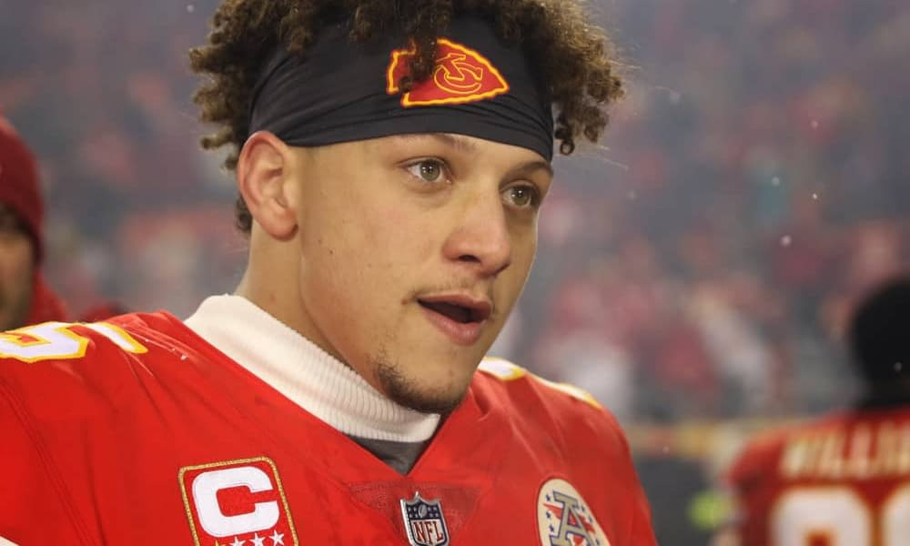 Kansas City Chiefs star quarterback Patrick Mahomes has a quote going viral after the team's blowout loss against the Titans on Sunday