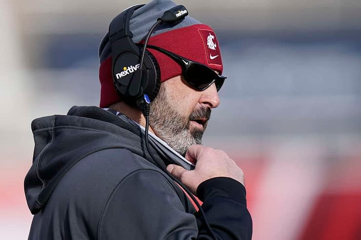 Washington State head coach Nick Rolovich announced his decision not to take the COVID vaccine, and will be doing media day remotely