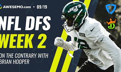 On the Contrary returns with Alex 'Awesemo' Baker and Dave Loughran going over the Week 2 NFL DFS picks and DFS slate on DraftKings, Fanduel.