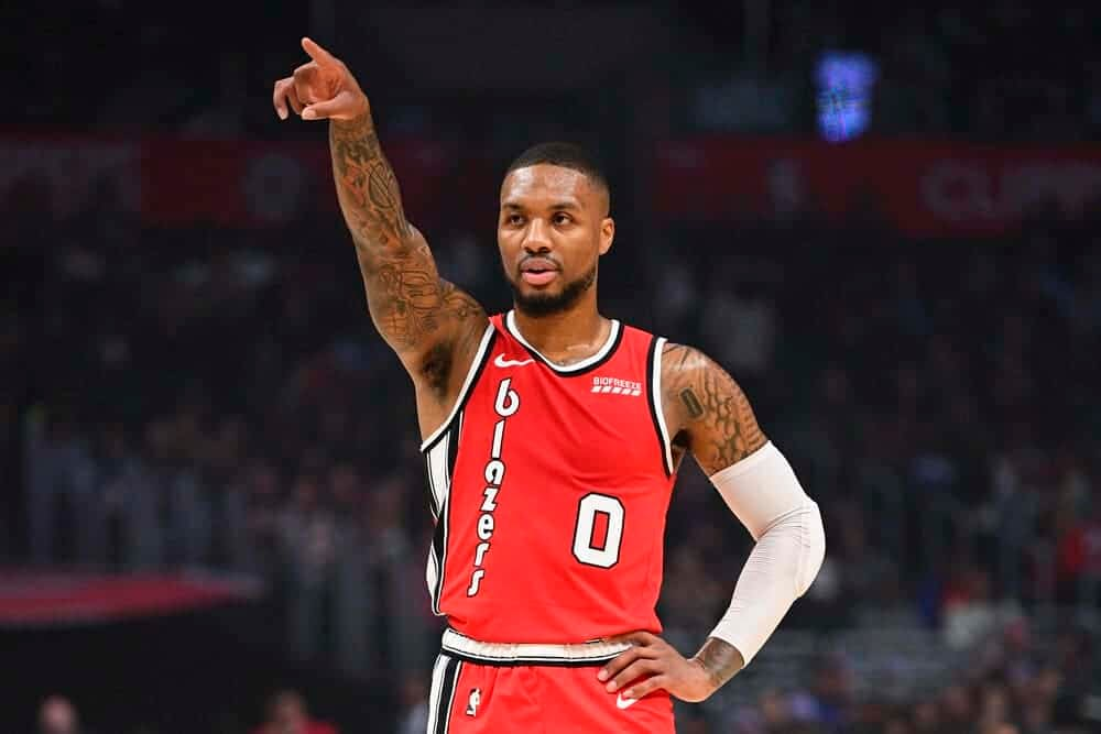 NBA DFS Deep Dive, his favorite DraftKings and FanDuel picks for the February 26 slate, including Damian Lillard.