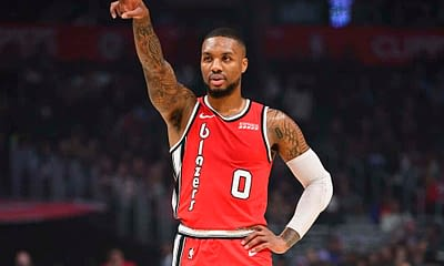 DraftKings & FanDuel NBA Daily Fantasy Picks, Strategy and DFS projections and ownership from the Slate Starter Podcast featuring Damian Lillard today Friday April 23