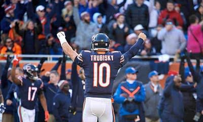 Chicago Bears running back Tarik Cohen had a telling message to any Chicago Bears fan who boos Mitchell Trubisky at Soldier Field on Saturday