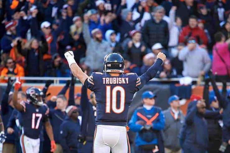 Our Week 2 Giants vs. Bears betting trends preview with NFL odds, NFL picks, moneyline and against the spread NFL prediction.