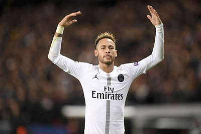 DraftKings UCL DFS Picks cheat sheet for Tuesday April 13 based on Awesemo's expert projections and ownership with Neymar