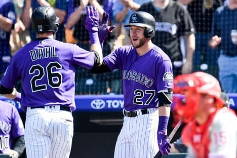 Josh and Jake gives their best MLB Picks for Baseball DFS for tonight's 8-game slate on DraftKings and FanDuel, including Trevory Story.