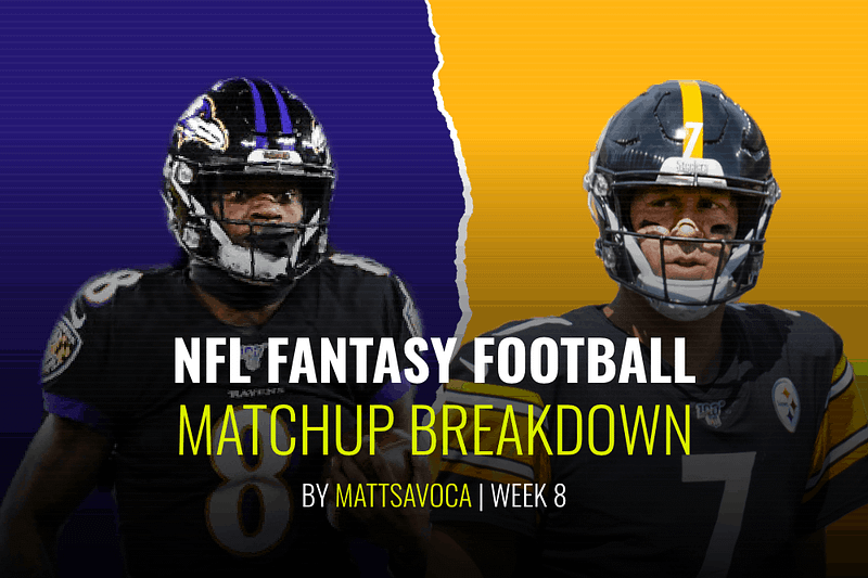 Matt Savoca's game-by-game breakdowns of the Week 8 daily fantasy football slate for NFL DFS lineups on DraftKings + FanDuel + Yahoo.