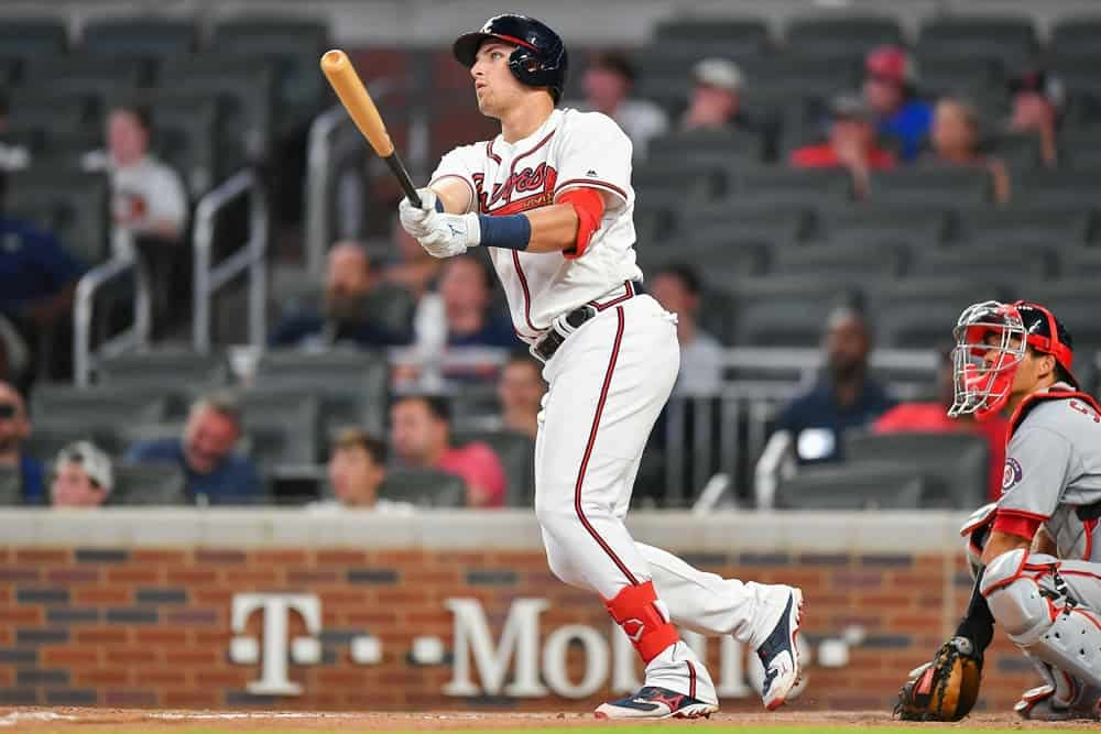 MLB DFS lineup picks today DraftKings FanDuel fantasy baseball rankings free expert advice tips strategy home run predictions calls top stacks optimal lineup optimizer Yankees Twins Red Sox Dodgers Giants BRaves