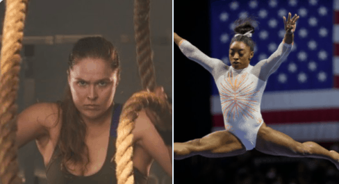 Former MMA superstar Ronda Rousey went all-in to call out anyone who was judging Simone Biles over her decision to withdraw from the Tokyo Olympics
