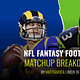Matt Savoca gives you the most in-depth data for Week 16 NFL DFS slate and breaks down NFL DFS Picks for DraftKings + FanDuel lineups