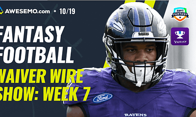 Awesemo's Fantasy Football Week 7 Waiver Wire pickup show with Matt Gajewski and Kyle Dvorchak | ESPN + Yahoo + FFPC | JK Dobbins + More