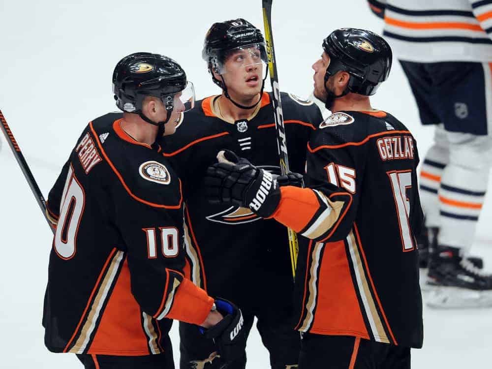 NHL DFS Picks Strategy for DraftKings and FanDuel featuring Rickard Rakell