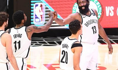 NBA DFS picks DraftKings FanDUel lineup optimizer picks optimal lineup starting lineups injury report tonight today James Harden free expert advice tips strategy cheat sheet betting best bets player props Friday OCtober 22 2021 Nets ownership rankings projections Yahoo ESPN CBS fantasy basketball