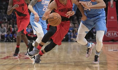 NBA FanDuel DFS Lineup picks daily fantasy basketball cheat sheet for Monday May 10 with C.J. McCollum