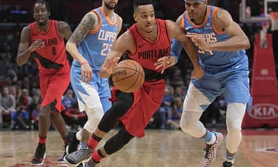 NBA FanDuel Lineup PIcks DFS Daily Fantasy Basketball Top 5 Rankings tonight Thursday June 3 based on Josh Engleman's expert projections, ownership and simulations with CJ McCollum