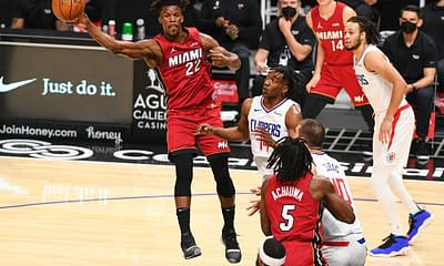 NBA Fantasy lineups today tonight DraftKings & FanDUel NBA DFS basketball DFS optimal lineup optimizer picks strategy advice tips cheat sheet ownership projections Injury report starting lineups tonight today Jimmy Butler betting picks player props bets