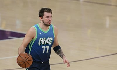 Awesemo brings the 4/18/21 NBA DraftKings Picks cheat sheet for daily fantasy basketball lineups on April 18, including Luka Doncic.