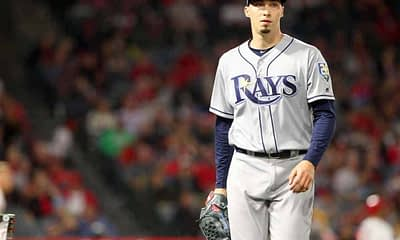 DraftKings DFS MLB DFS picks like Blake Snell for the July 26 MLB DFS slate based on projections and ownership from the #1 DFS player.