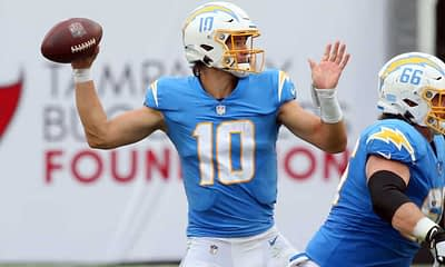 2021 NFL Playoff Betting Odds, picks, predictions props expert betting advice strategy for the postseason like Los Angeles Chargers Miami Dolphins Washington Football Team