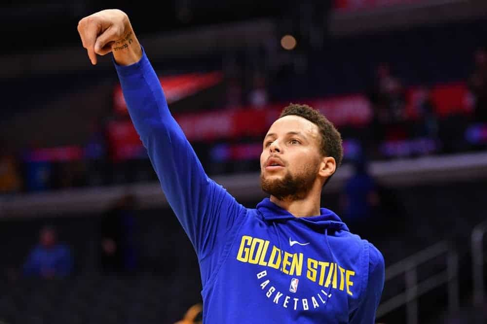 EMac gives his favorite NBA DFS picks for Yahoo + DraftKings + FanDuel daily fantasy basketball lineups, including Stephen Curry | 4/21/21