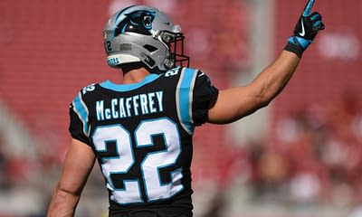NFL DFS optimizer picks Thursday Night Football Week 3 Panthers vs. Texans optimal lineup tournament strategy advice tips cheat sheet free expert rankings projections ownership top stacks