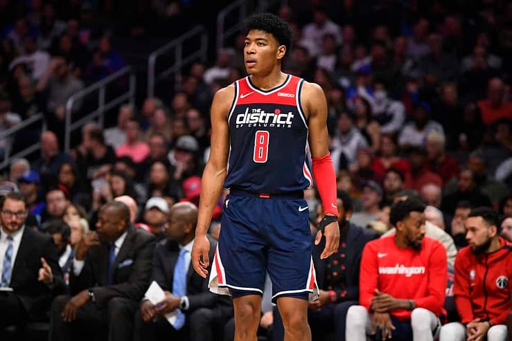 DraftKings & FanDuel NBA Daily Fantasy basketball picks and projections for NBA DFS lineups on MOnday May 10 with Rui Hachimura and Jaren Jackson Jr. based on Awesemo's expert rankings