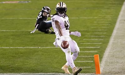NFL DraftKings DFS picks Week 7 Monday Night FOotball Saints vs. Seahawks today tonight this week lineup optimizer picks optimal lineup free expert advice tips strategy cheat sheet rankings projections ownership Alvin Kamara fantasy football 2021 best bets player props predictions over/under parlay moneyline