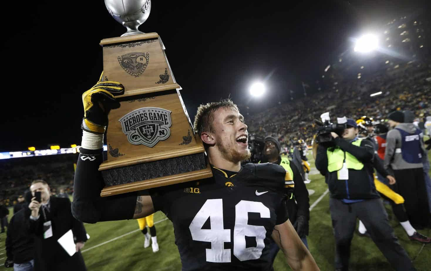Former Iowa Hawkeye George Kittle took an apparent attempt by Nebraska to troll Iowa as an opportunity to ether the Cornhuskers
