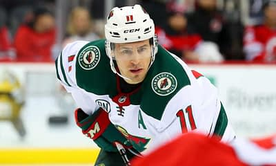 DraftKings NHL DFS picks cheat sheet daily fantasy hockey with Zach Parise on Saturday April 17