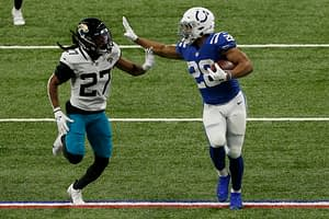 Free expert 2021 fantasy football rankings Jonathan Taylor PPR leagues Top 5 Colts draft mock draft cheat sheet preview player profile