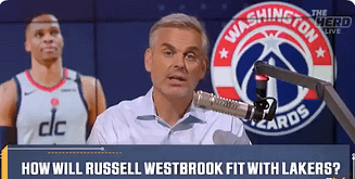 FS1 talk show host Colin Cowherd had NBA fans dying with his latest analogy where he compared Russell Westbrook to the delivery app DoorDash
