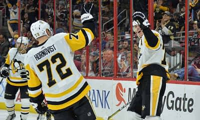 DraftKings & FanDuel NHL DFS picks like Evgeni Malkin for January 14 NHL DFS based on projections and rankings from top DFS player.