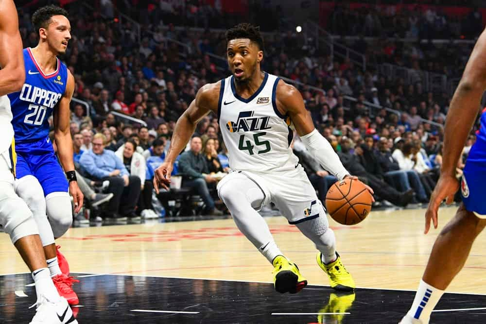 NBA Player Prop betting picks Donovan Mitchell today over points