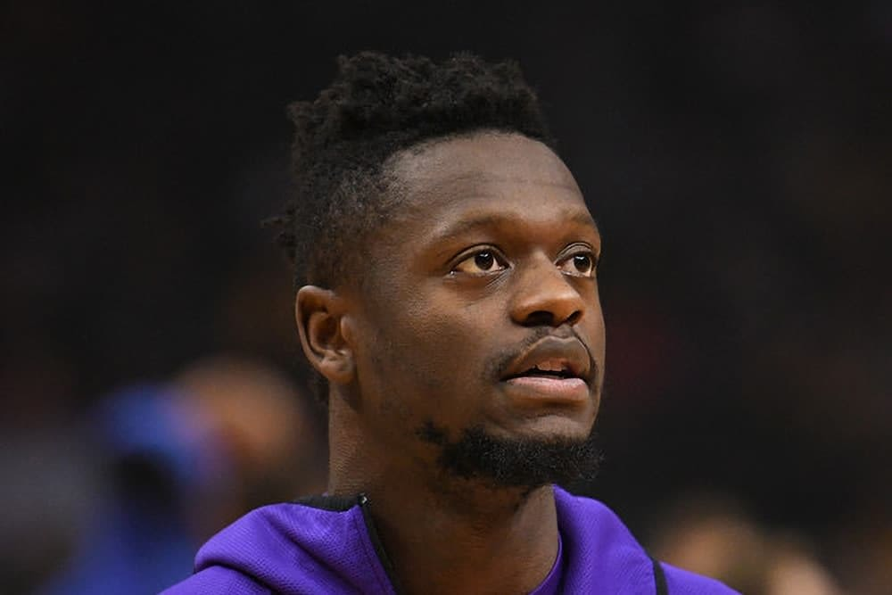 Zach Brunner utilizes the Awesemo Boom/Bust Tool for NBA Fantasy projections for DraftKings and FanDuel today with Julius Randle.