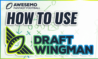 Awesemo's Josh Engleman shows you how to use the PREMIUM Awesemo Draft Wingman tool in a fantasy football live mock draft.