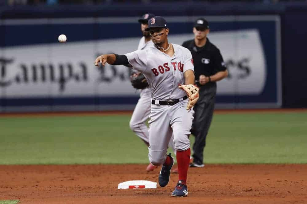 Awesemo's free expert MLB DFS live show with fantasy baseball news, picks and projections for DraftKings and FanDuel lineups today 10/20