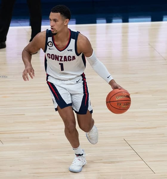 DraftKings & FanDuel CBB DFS Picks for tonight's National Championship NCAA Tournament March Madness on Monday April 5 with Jalen Suggs.